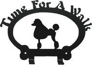 Dog Leash Holder - Poodle Show-Clip
