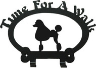 Dog Leash Holder - Poodle Show-Clip
