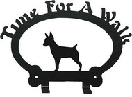 Dog Leash Holder - Rat Terrier