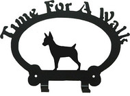Dog Leash Holder - Rat Terrier