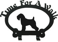 Dog Leash Holder - Soft Wheaton Terrier