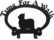 Dog Leash Holder - Yorkie show-clip