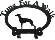 Dog Leash Holder - Whippet