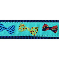 Bow Ties 3/4 & 1.25 inch Dog Collar, Harness, Lead & Acc.