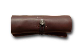 Brown Ledr Tool Roll