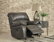 Dunwell Steel Power Rocker Recliner with Adjustable Headrest