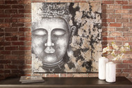 Donar Black/Silver Finish Wall Art