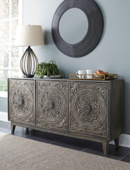 Fair Ridge Dark Brown Console