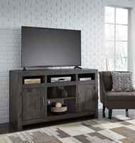 Mayflyn Charcoal LG TV Stand w/Fireplace Option