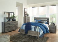 Cazenfeld Black/Gray 6 Pc. Queen Panel Bedroom Collection