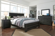 Brinxton Black 6 Pc. King Poster Bedroom Collection