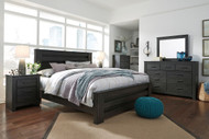 Brinxton Black 8 Pc.King Poster Bedroom Collection