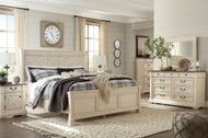 Bolanburg Two-tone 5 Pc.King Panel Bedroom Collection