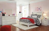 Dreamur Champagne 5 Pc Full Bedroom Collection