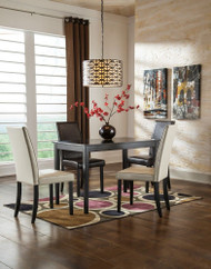 Kimonte 5 Pc Rectangular Dining Set