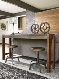 Torjin Brown/Gray 3 Pc. Long Counter Dining Set
