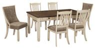 Bolanburg Antique White 7 Pc Rectangular Dining Set