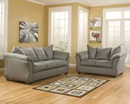 Darcy Cobblestone Sofa & Loveseat