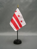 """DISTRICT OF COLUMBIA 4X6"""" TABLE TOP FLAG"""