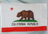 CALIFORNIA 3X5' S-POLY FLAG IMPORTED