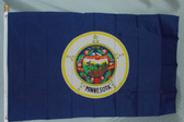 MINNESOTA 3X5' S-POLY FLAG IMPORTED