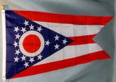 OHIO 3X5' S-POLY FLAG IMPORTED