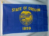 OREGON 3X5' S-POLY FLAG IMPORTED