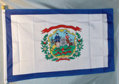 WEST VIRGINIA 3X5' S-POLY FLAG IMPORTED