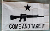 COME AND TAKE IT (RIFLE) 3X5' S-POLY FLAG