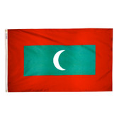 MALDIVES NYLON FLAGS 2X3' TO 5x8'