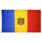 MOLDOVA NYLON FLAGS 2X3' TO 5x8'