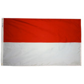 MONACO NYLON FLAGS 2X3' TO 5X8'