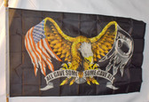 ALL GAVE SOME EAGLE 3X5' POLY FLAG