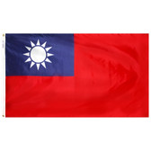 TAIWAN NYLON FLAGS 2X3' TO 5x8'