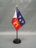 "ACADIANA 4X6"" TABLE TOP FLAG"