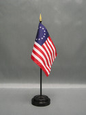 "BETSY ROSS 4X6"" TABLE TOP FLAG"