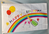 BIRTHDAY PARTY 3X5' S-POLY FLAG