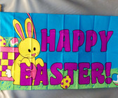 HAPPY EASTER 3X5' S-POLY FLAG