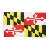 "MARYLAND NYLON FLAGS 12X18"" TO 8X12' US MADE"