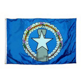 NORTHERN MARIANAS NYLON FLAGS 3X5' TO 5X8'