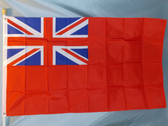 BRITISH RED ENSIGN 3X5' S-POLY FLAG