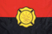 FIREMAN REMEMBERANCE 3X5' NYLON FLAG