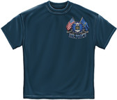 DOUBLE FLAG US AIR FORCE T-SHIRT