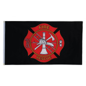 FIRE RESCUE BLACK ITB 3X5'
