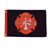 "FIRE RESCUE 12X18"" BOAT FLAG"