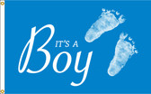 IT'S A BOY 3X5' NYLON FLAG