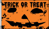 TRICK OR TREAT 3X5' S-POLY FLAG