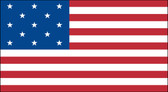 13 STAR US 3X5' NYLON FLAG  1777-1795