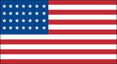 28 STAR US 3X5' NYLON FLAG 1846-1847