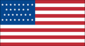 29 STAR US 3X5' NYLON FLAG 1847-1848